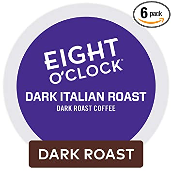 Eight-O'Clock-Coffee-Dark-Italian-Roast-Keurig-Single-Serve-K-Cup-Pods