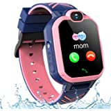 St. Lun Kids GPS Smartwatch Phone IP67 Waterproof, Boys Girls 4G 2G Watch with GPS Locator 2Way Call SOS Voice Chat…