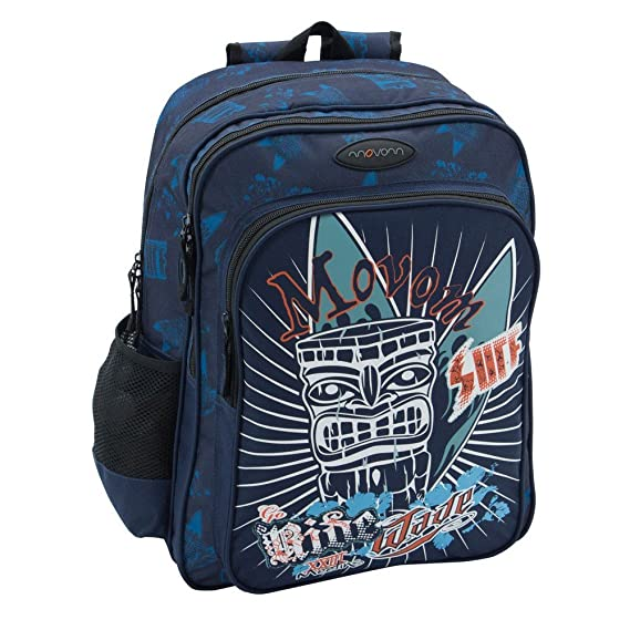 Movom 3382451 Mochila Escolar, 27.72 litros, Color Azul: Amazon.es: Equipaje
