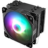 Vetroo V5 CPU Air Cooler w/ 5 Heat Pipes 120mm PWM Processor 150W TDP Fan Intel LGA 1200 115X / AMD Ryzen AM4 Universal Socke