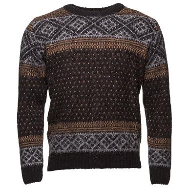 Icewear Ptur Icelandic Crewneck Sweater Knitted Sweater At
