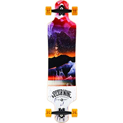 Sector 9 Meridian Orange 2016 Complete Longboard Skateboard New : Sports & Outdoors