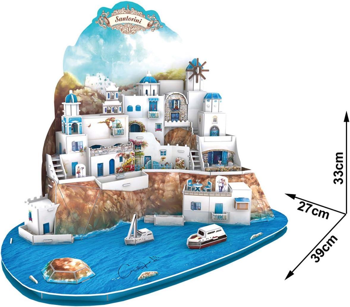 3D Puzzle Islas San Torini Grecia Santorini Islands Griechenland ...