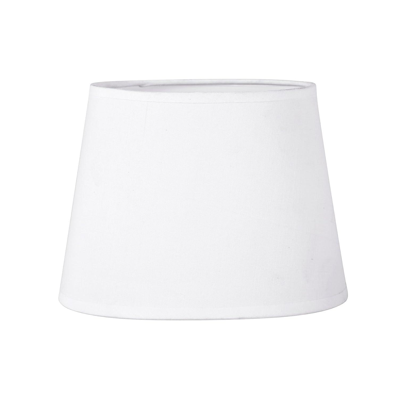 Sema 97117 Abat-Jour ovale Texture/Tissu Blanc Sema Design
