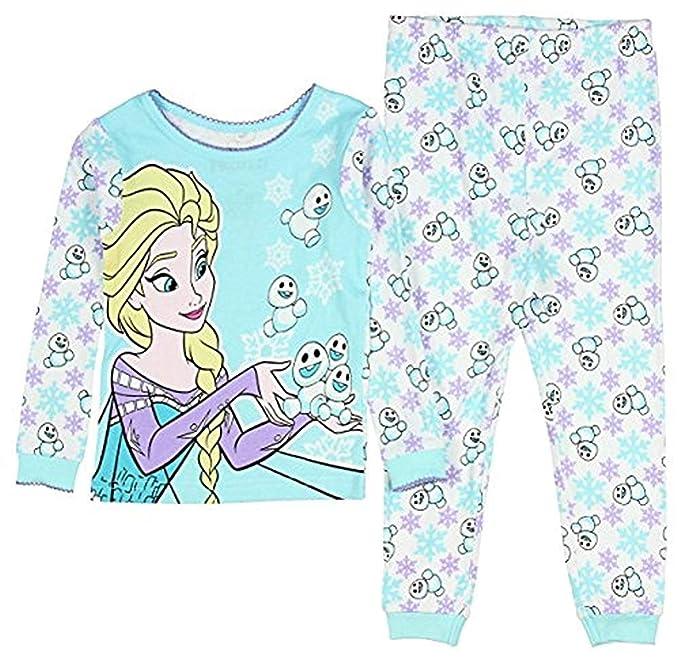705d1184a Amazon.com  Disney Frozen Elsa And Snowman Little Girls  Toddler 2 ...