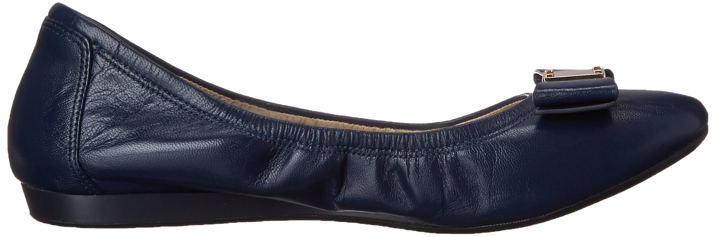 Cole Haan Women's Tali Bow Ballet Flat, Blazer Blue, 8 B US by Cole Haan (Image #7)