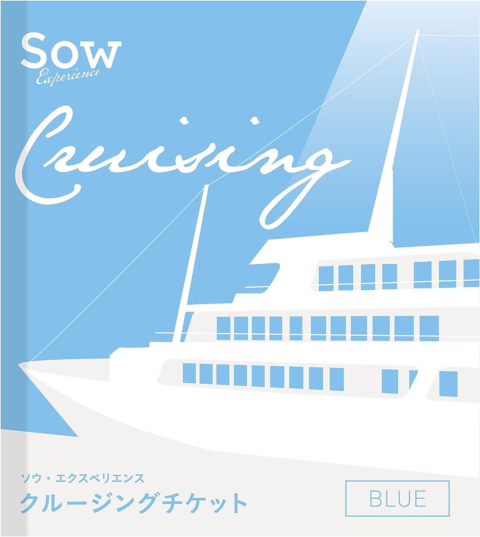 SOW EXPERIENCE(ソウ・エクスペリエンス) 目録・A3景品パネル付き 体験型カタログギフト クルージングチケットBLUE