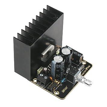 Placa del amplificador estéreo del coche, Droking 30W + 30W Clase AB Amplificador de audio