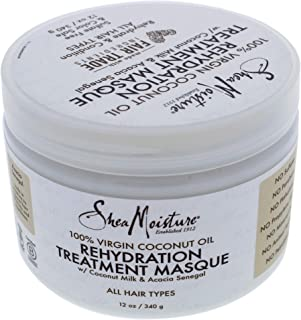 product image for Shea Moisture 100 Percent Virgin Coconut Oil Rehydration Treatment Masque for Unisex Masque, 12 Ounce