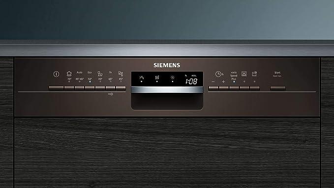 Siemens iQ300 SN536M00PE lavavajilla Semi-incorporado 13 cubiertos ...