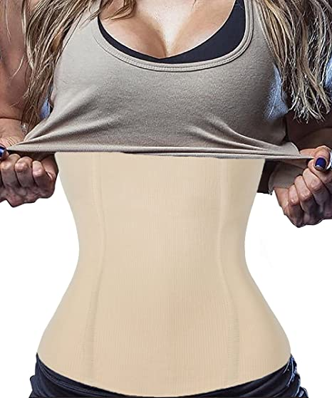 a7611c6db FUT Women s Postpartum Waist Trainer Belt Body Shaper Belly Wrap  Compression Band at Amazon Women s Clothing store