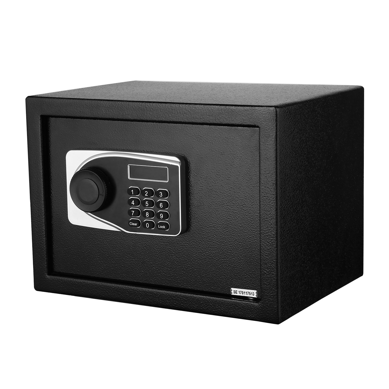 Homevol Home Security Digital Electronic Safe Box Case with LED Screen & Keys,0.5 Cubic Feet,Money Jewelry Valuables Storage Box