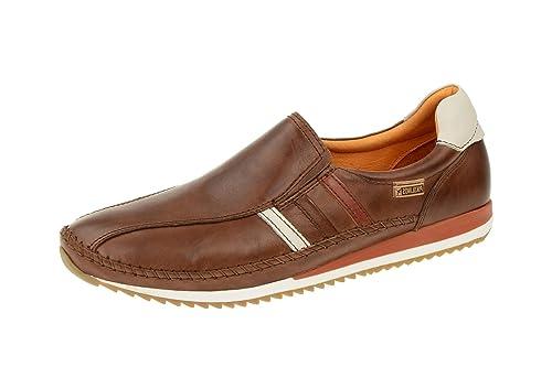 Pikolinos M2A-6051 Liverpool - Mocasines de Piel para hombre, color Marrón, talla 45 UE: Amazon.es: Zapatos y complementos
