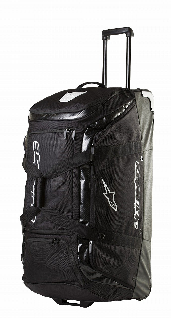 ALPINESTARS Men's Transition Roller Bag, Black Ballistic, One Size