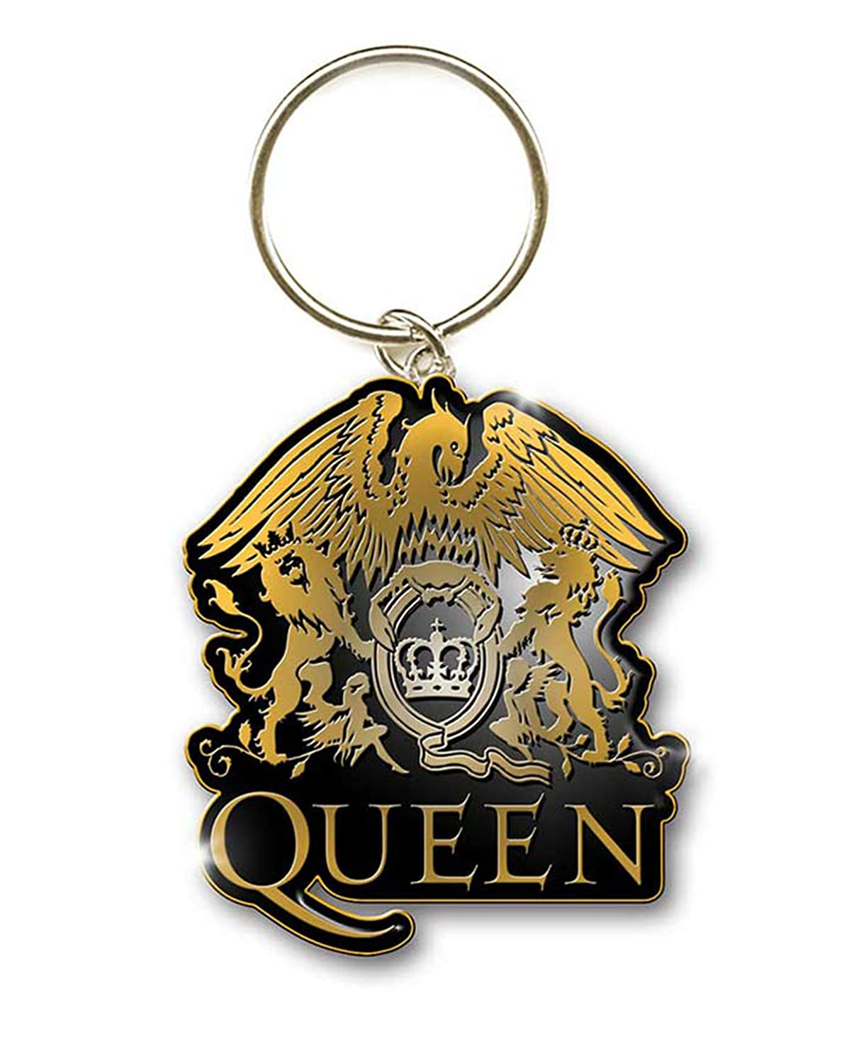 Queen Crest Freddie Mercury Brian May Rock llavero con ...