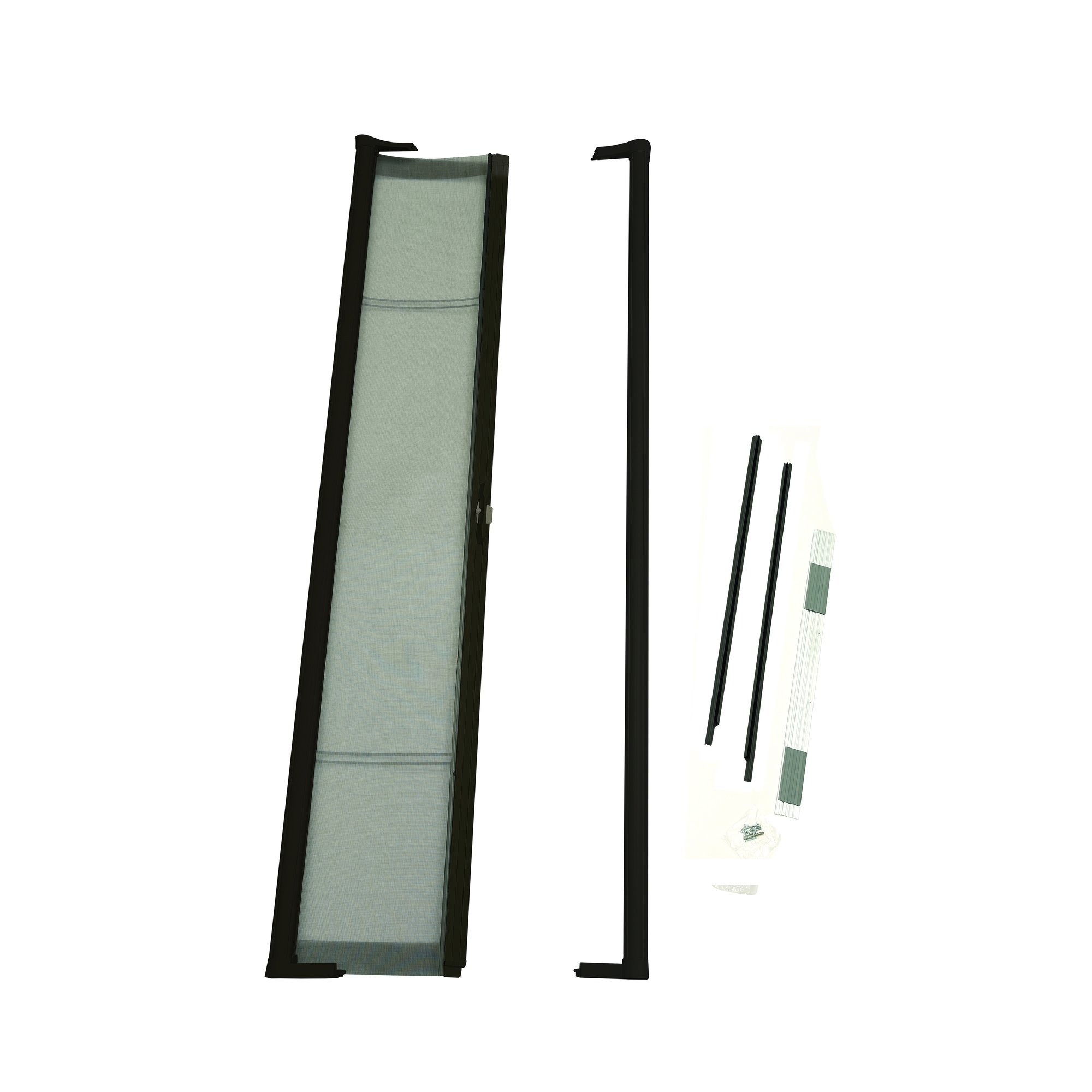 ODL Brisa Premium Retractable Screen for 78 in. Inswing/Outswing Hinged Doors - Bronze