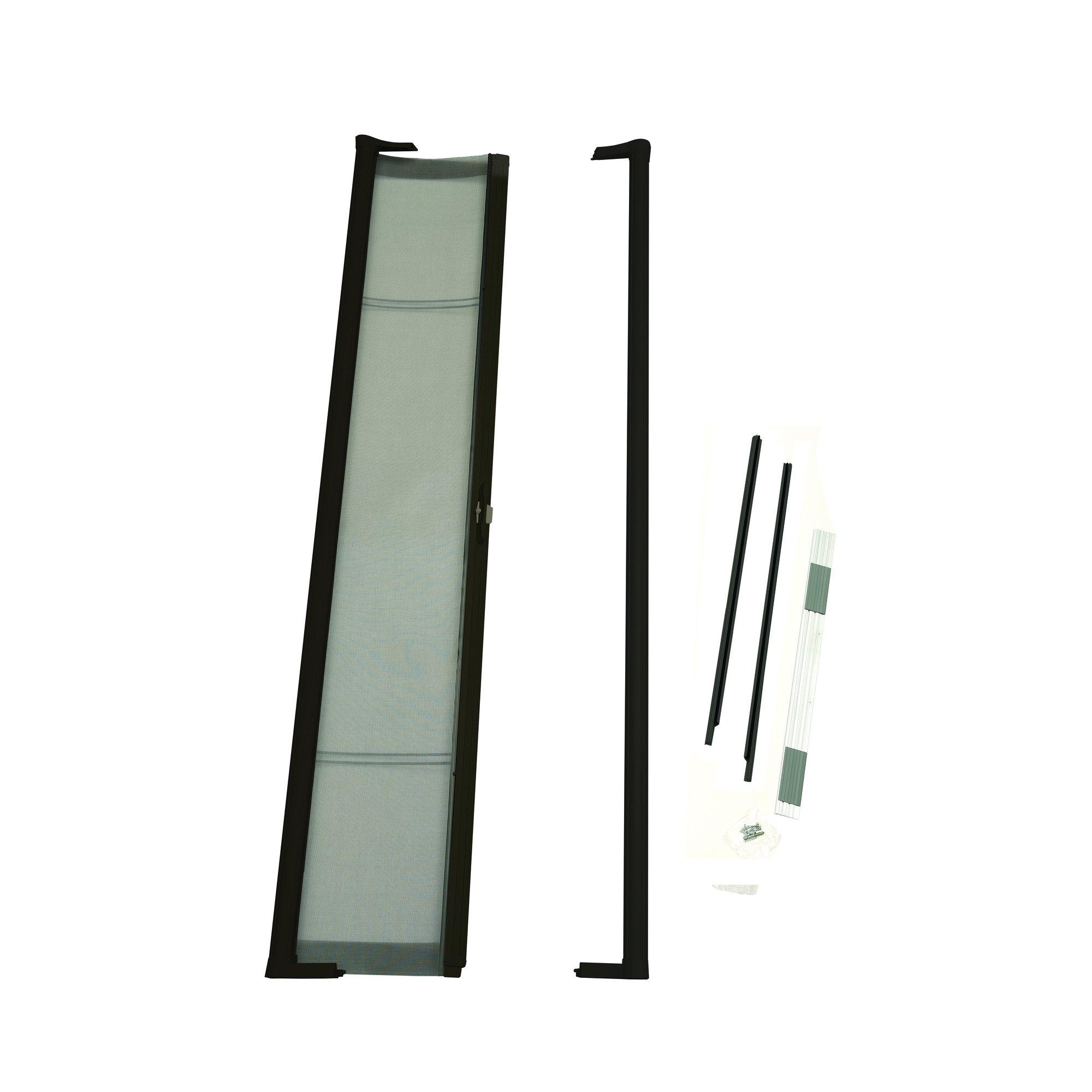 ODL Brisa BRSHBE Bronze Short Retractable Screen Door