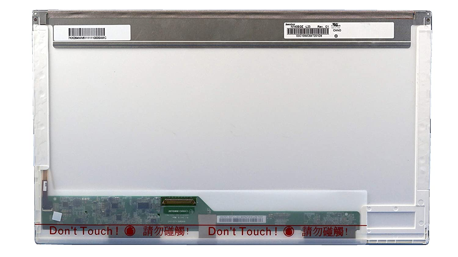 Generic New 14.0' WXGA HD LED DIODE Replacement LAPTOP LCD Screen Compatible with Dell Latitude E6430, FITS LP140WH1-TLA1, LTN140AT02,N140BGE-L23