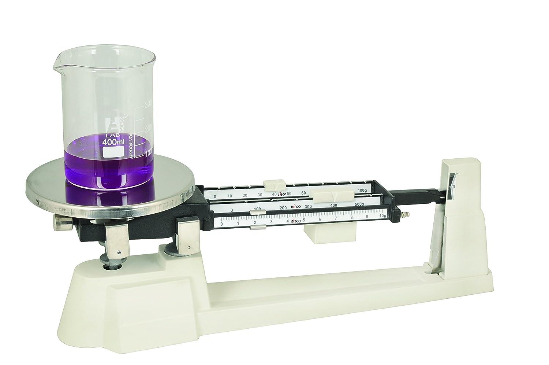 Eisco Labs Triple Beam Balance 0.1g Sensitivity 610g Capacity
