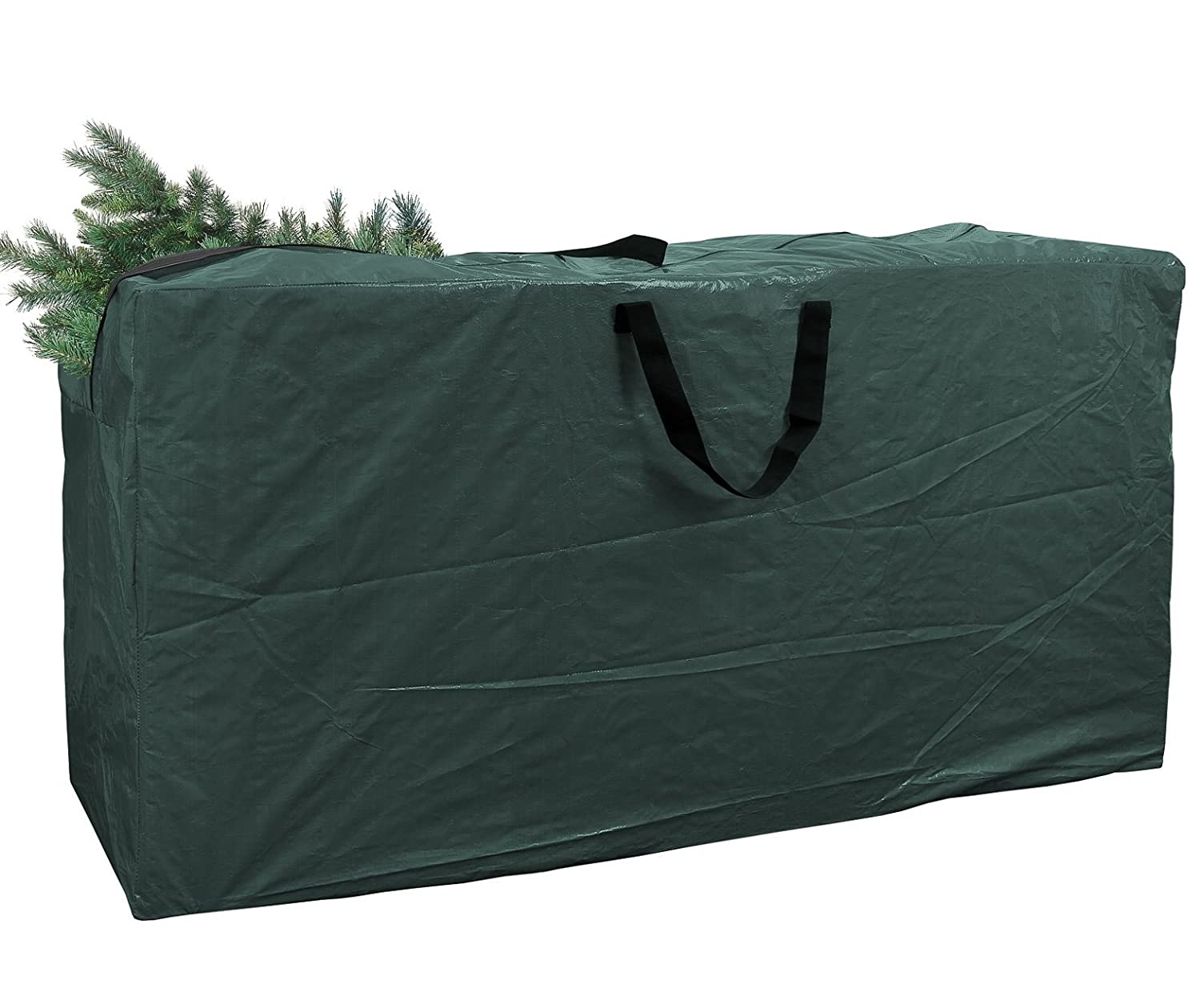 Greenco Extra Large Christmas Tree Storage Bag For 9 Foot Tree, Dark Green, Dimensions 65 x 15 x 30 Inches GRC0258