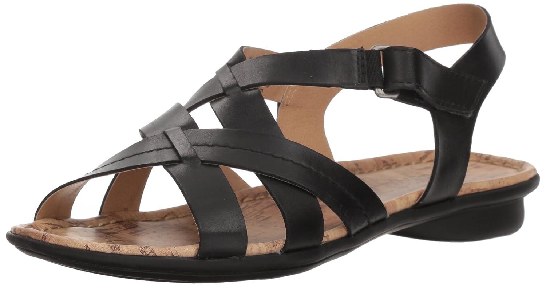 a2c0ae263dc3 Amazon.com  Naturalizer Women s Wyla Flat Sandal  Naturalizer  Shoes