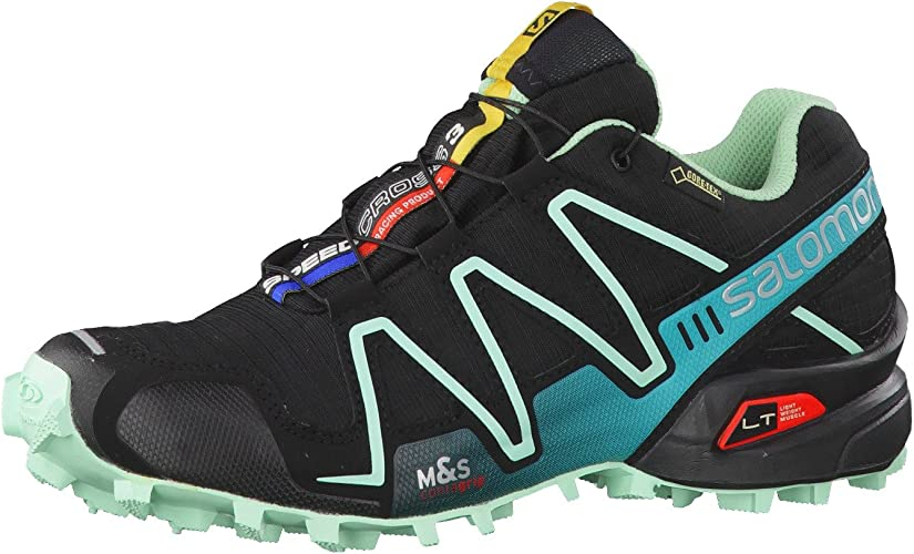 Salomon Speedcross 3 GTX W Zapatillas de trail running 9,0 black: Amazon.es: Zapatos y complementos