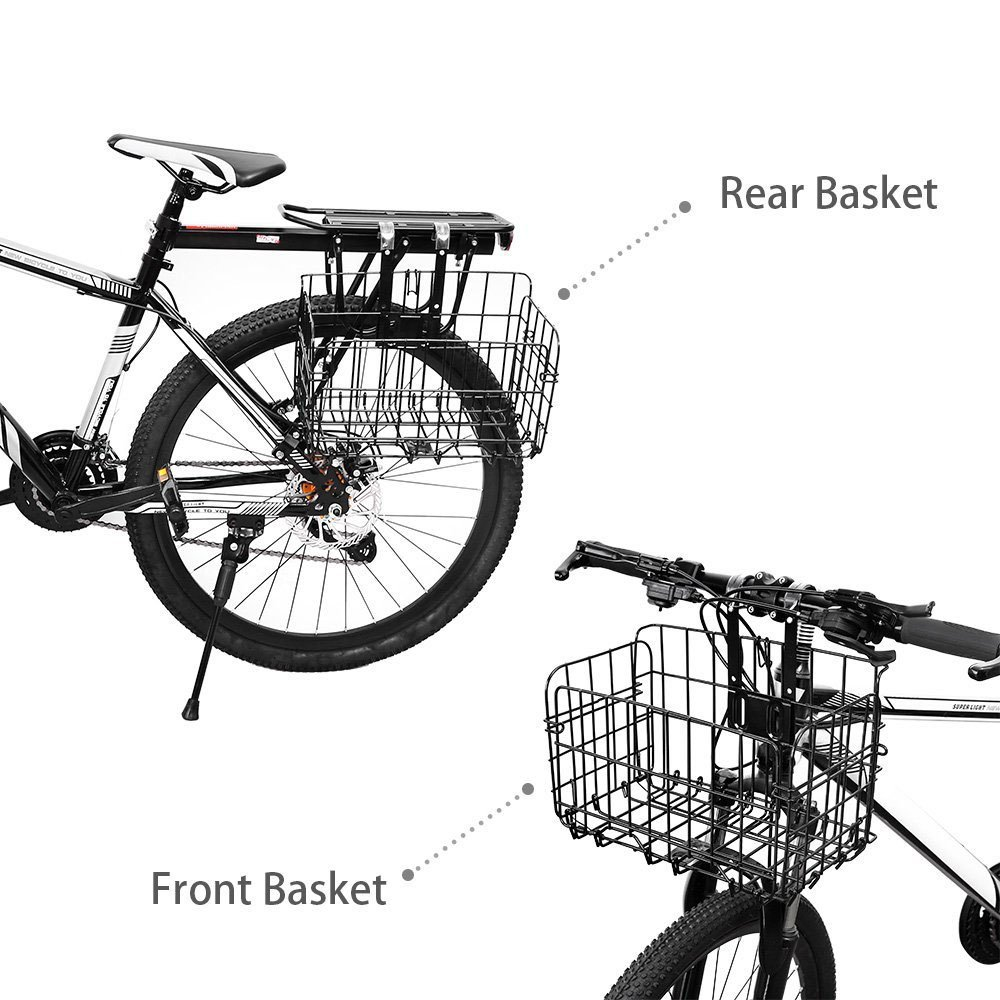 Amazon.com: Cesta plegable para bicicleta de Home, de malla ...