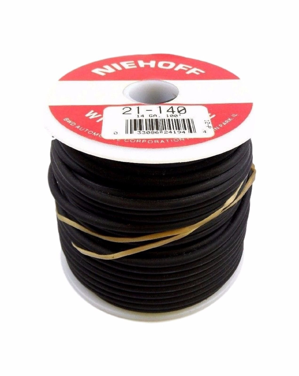 Niehoff 21-140 BWD Electrical Wire & Cable 14 GA Gauge 100Ft 100' Quality Wiring