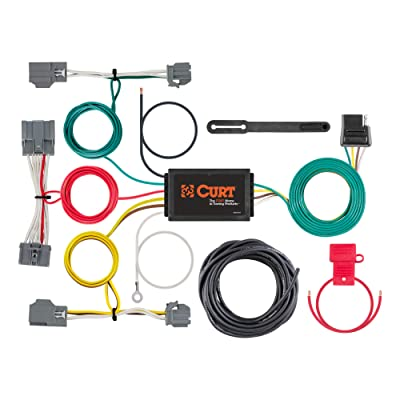 CURT 56386 Vehicle-Side Custom 4-Pin Trailer Wiring Harness, Select Volvo XC70: Automotive