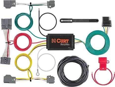 Amazon.com: CURT 56386 Vehicle-Side Custom 4-Pin Trailer Wiring Harness,  Select Volvo XC70: AutomotiveAmazon.com