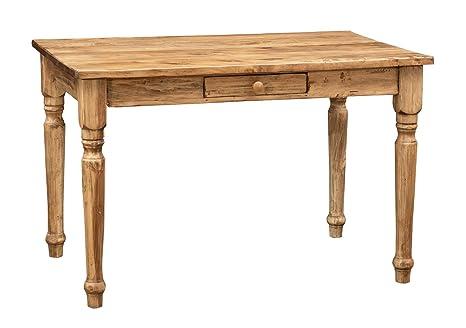 Scrittoio scrivania in legno massello di tiglio stile country