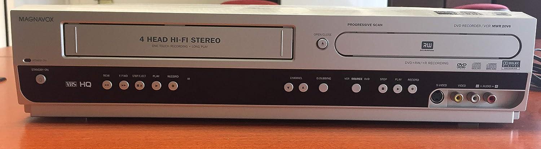 Magnavox mwr20 V6 DVDレコーダ/ VCRコンボ B000GWDL3U