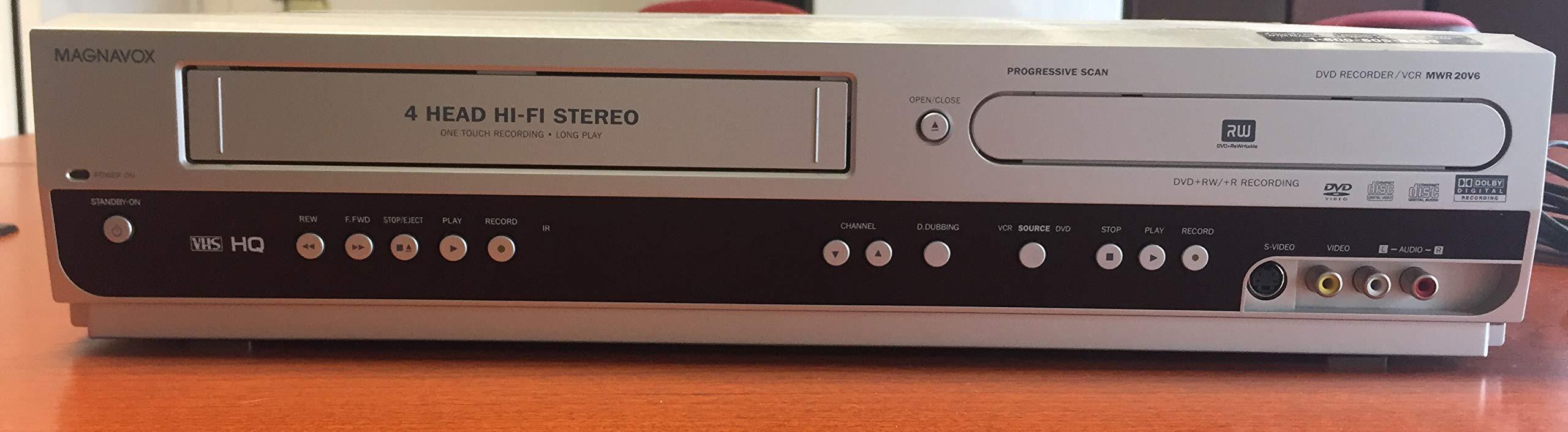 Magnavox MWR20V6 DVD Recorder / VCR Combo by Magnavox