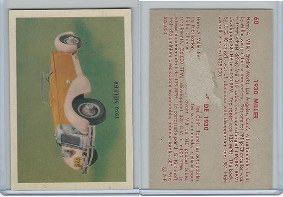 V339 16 Parkhurst Old Time Cars 1956 60 Miller At