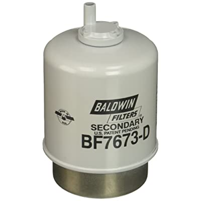 Baldwin Heavy Duty BF7673-D Fuel Filter,5-7/32 x 3-9/32 x 5-7/32 In: Automotive