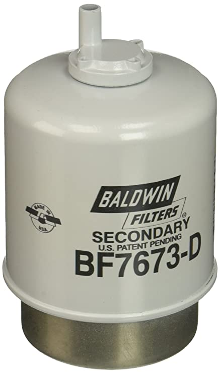 Amazon.com: Baldwin Heavy Duty BF7673-D Fuel Filter,5-7/32 x 3-9/32