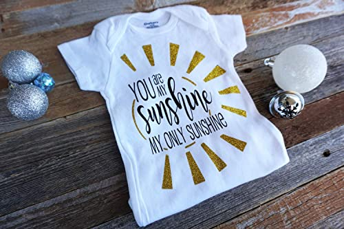 Personalised You Are My Sunshine Onesie