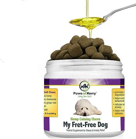 Amazon.com: # 1 Calmante golosinas para perros ansiedad ...