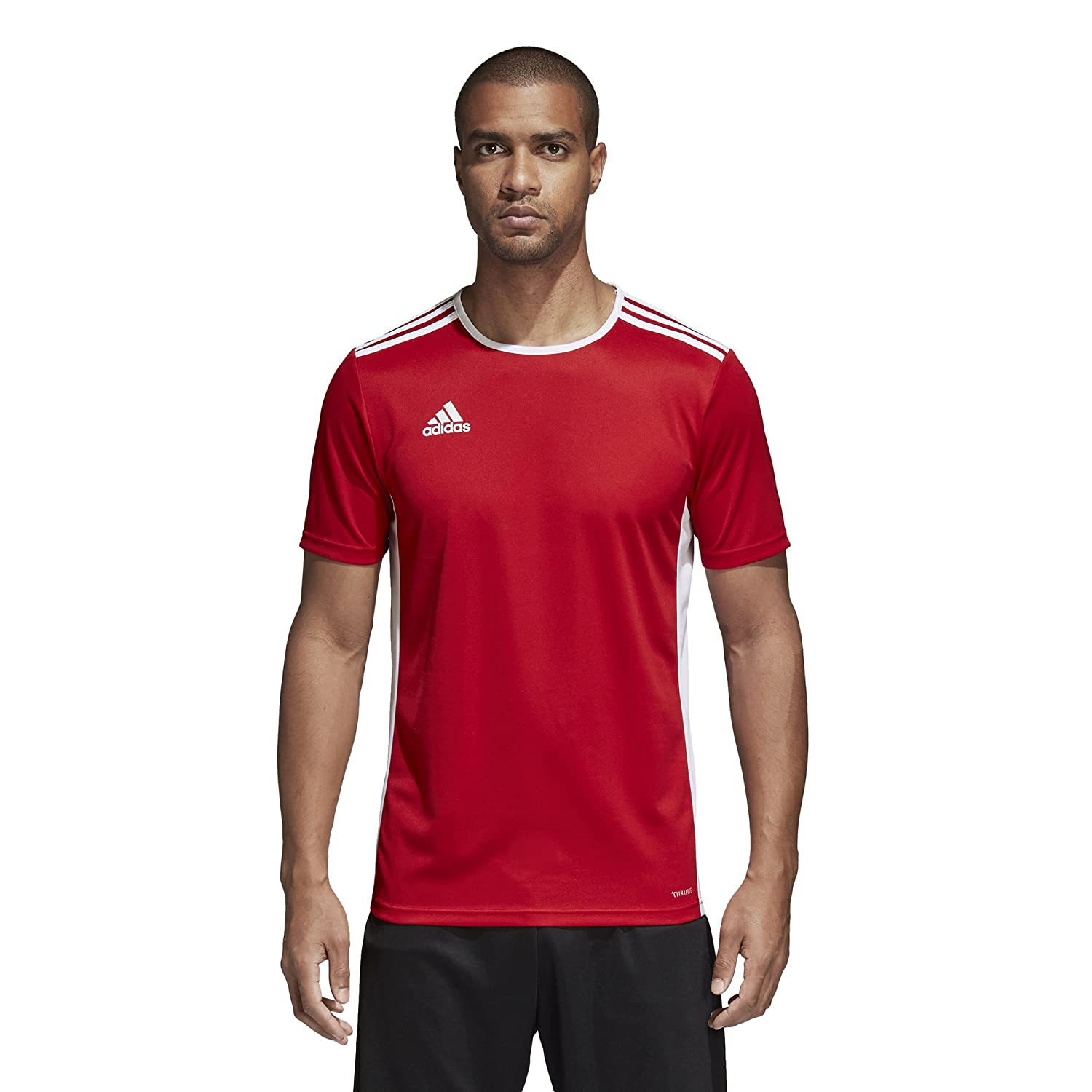 Adidas エントラーダ ジャージー メンズ サッカー 18 B071GX443P XX-Large|Power Red/White Power Red/White XX-Large