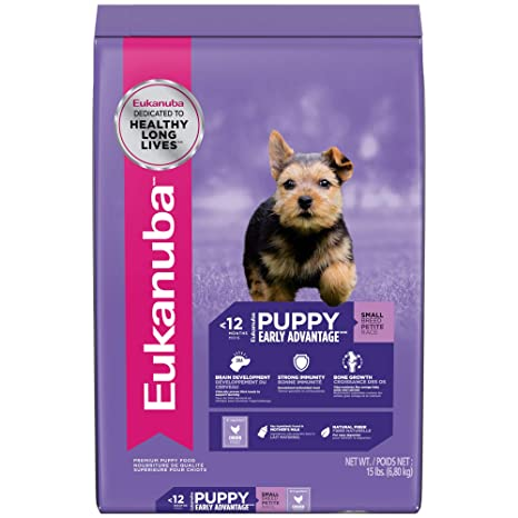 Amazon Com Eukanuba Puppy Small Breed Puppy Food 15 Pounds Pet