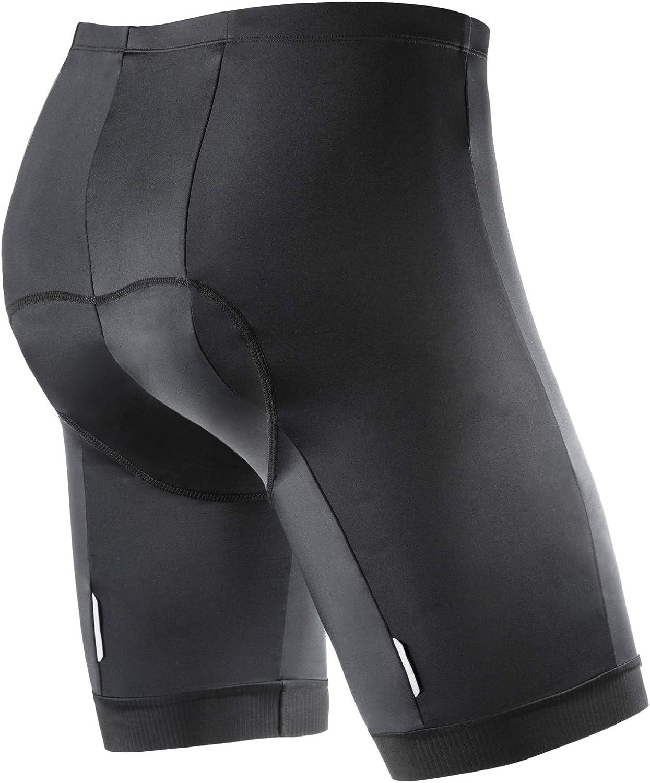 Wantdo Mens Padded Cycling Shorts Bike Shorts for Men Riding Half Pant