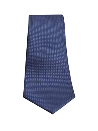 Corbata seda italiana jacquad azul marino: Amazon.es: Ropa y ...