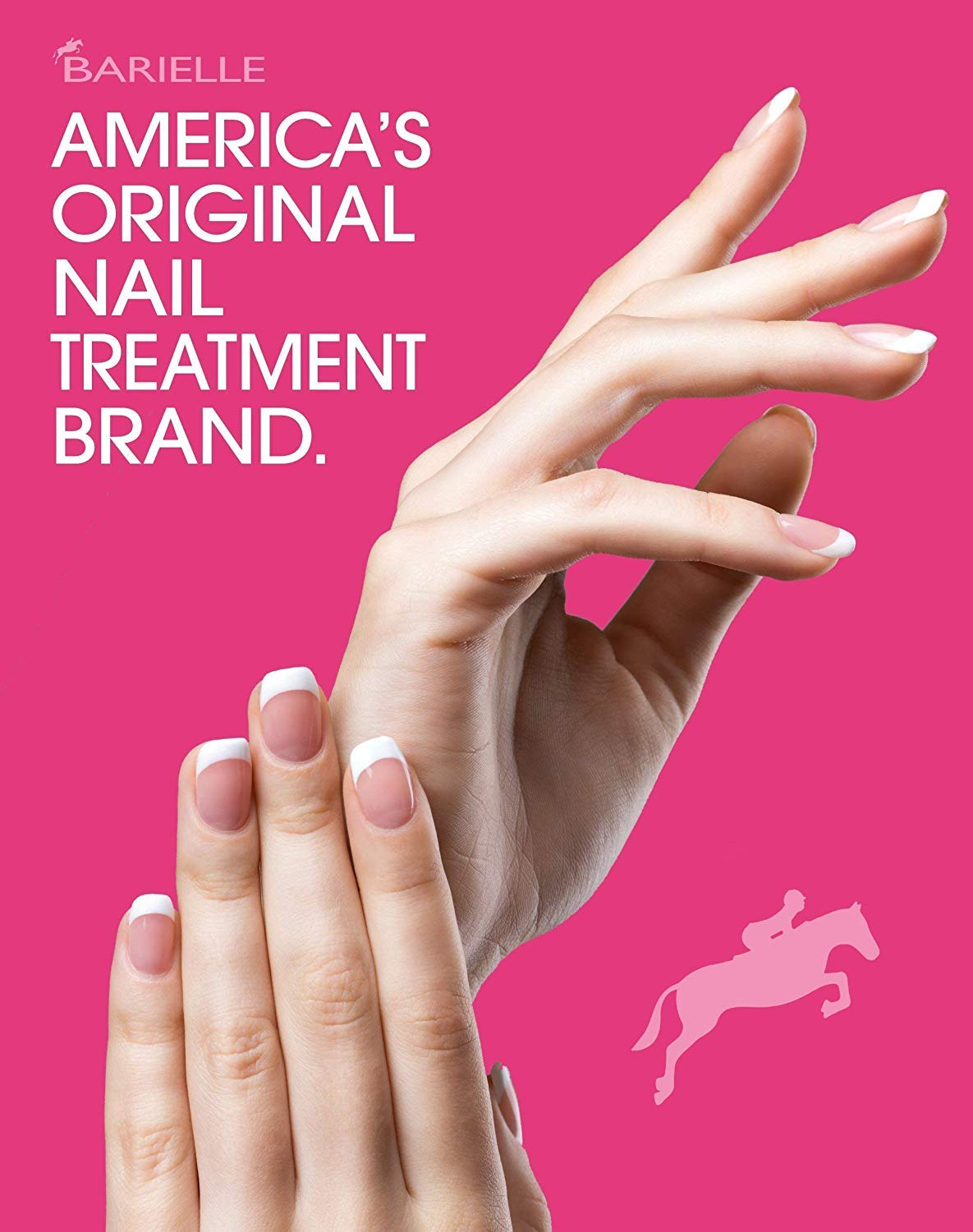 Barielle Clearly Noticeable Nail Thickener, Top Coat Instantly Thickens Nails Up To 50%, Perfect for Damaged Nails, Quick-Drying, Heals Cracked, Split, or Peeling Nails, Promotes Nail Growth, .5 Ounce : Nail Thickening Solutions : Beauty