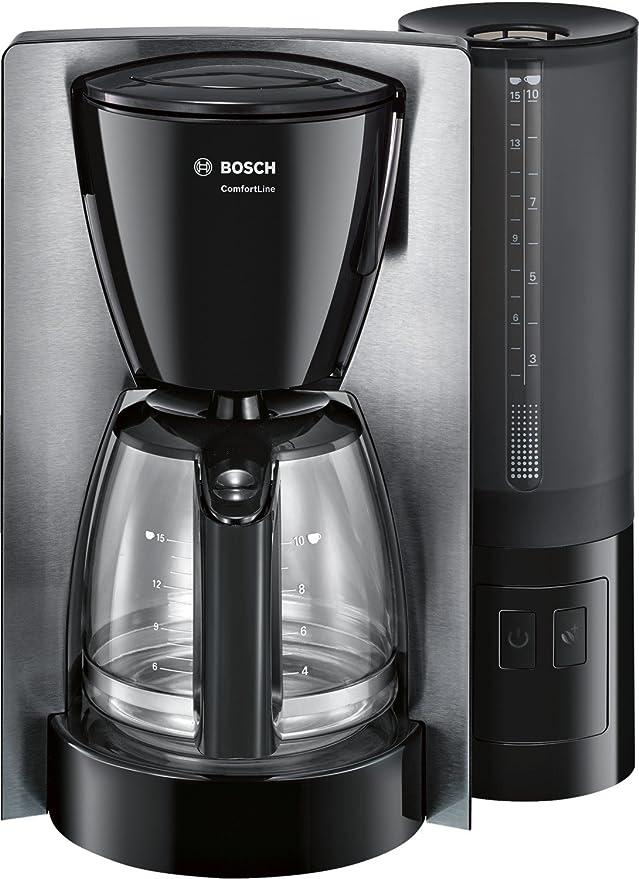 Bosch TKA6A643 Cafetera de Goteo, 1200 W, capacidad para 15 tazas, color negro y acero inoxidable: Bosch: Amazon.es: Hogar