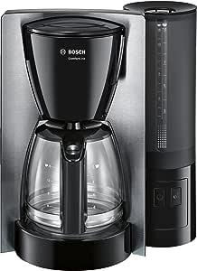 Bosch TKA6A643 Cafetera de Goteo, 1200 W, capacidad para 15 tazas, color negro y acero inoxidable