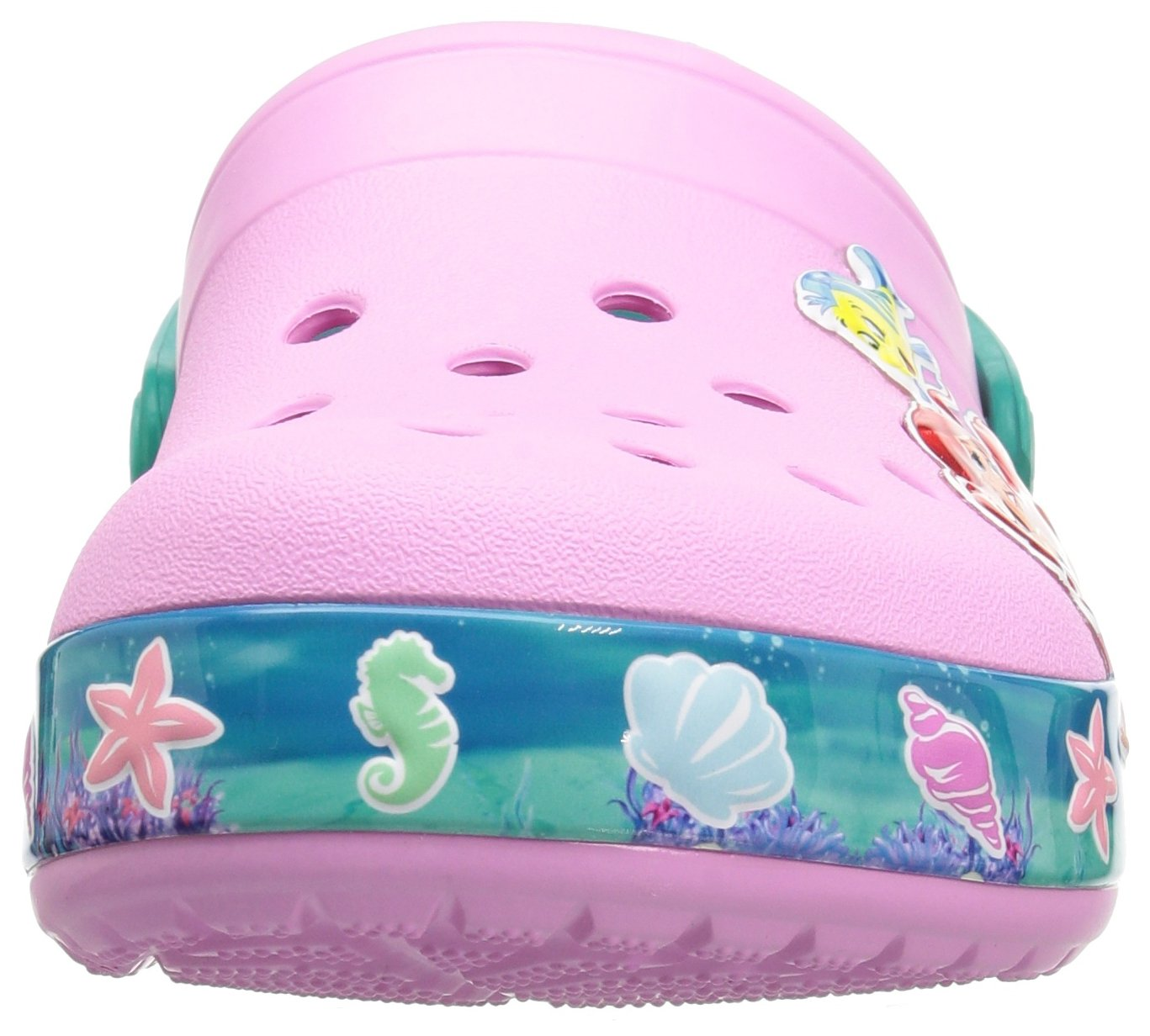 Crocs Unisex-Kids  CB Princess Ariel Clog K , carnation , C10 M US Toddler by Crocs (Image #4)