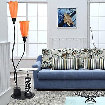 Global- Kreative Stehleuchte LED Augenschutz Lampe Wohnzimmer ...