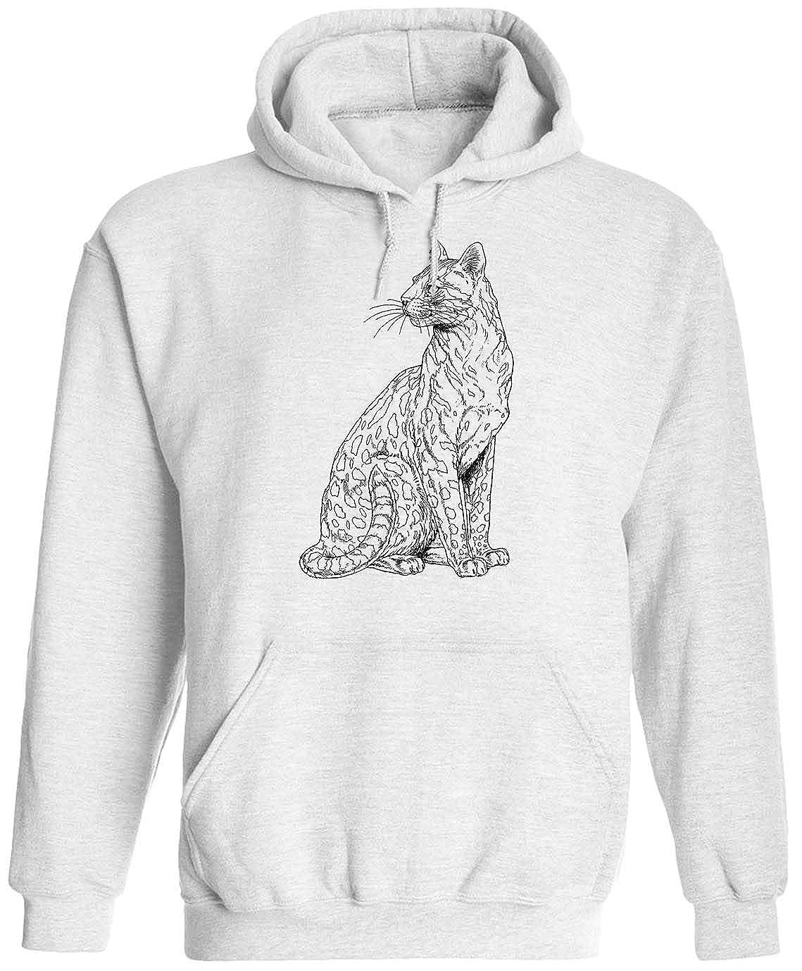 Beautiful Cheetah Unisex Adult Hooded Pullover Sweatshirt