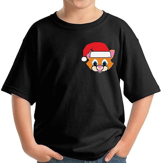 Awkward Styles Ugly Xmas Long Sleeve Shirt for Boys Girls Toddler Christmas Cartoon Santa Shirt