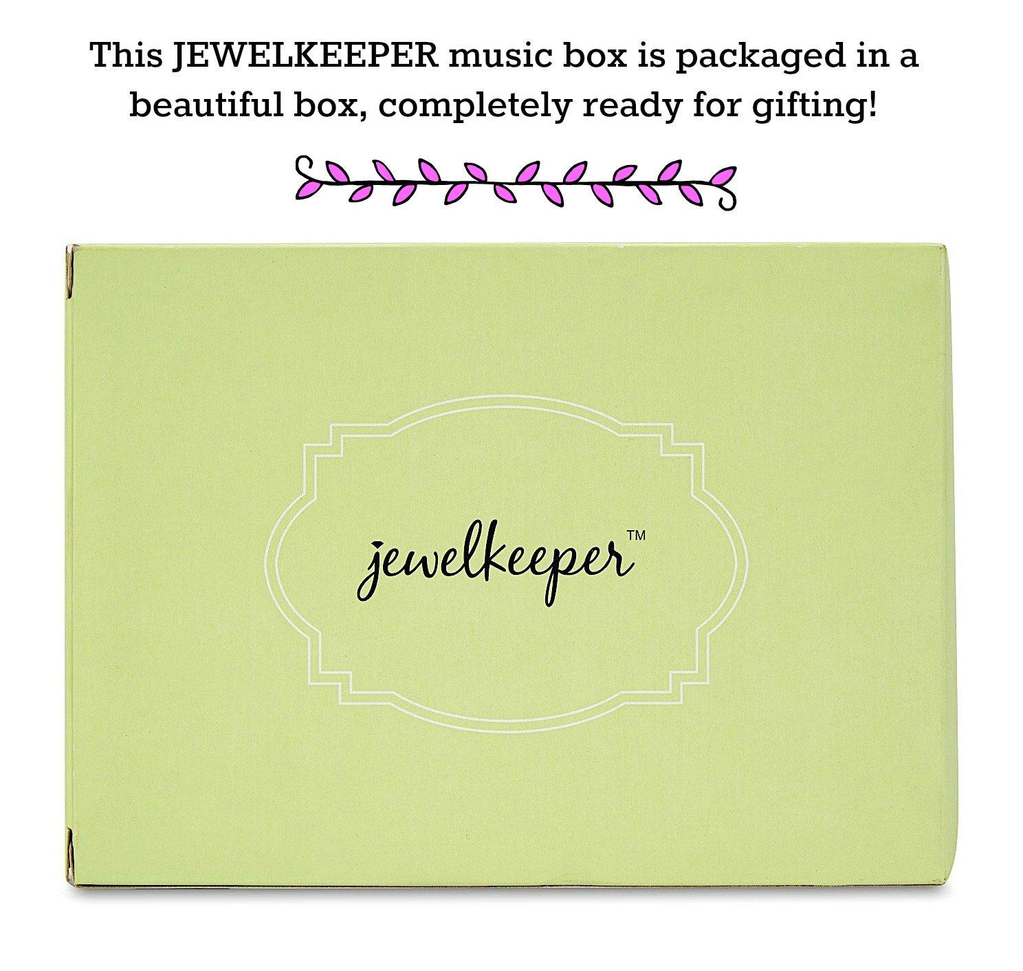 d48c2b1e59e5 JewelKeeper - Cajita Joyero Musical para Niñas con Búhos y Animales del  Bosque